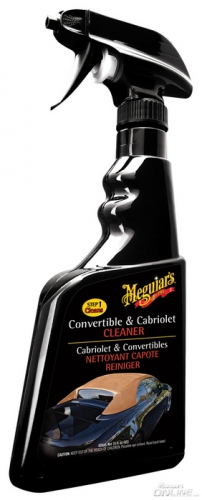Impregnat do dachu cabrio Meguiar's Convertible Top Cleaner